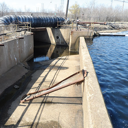 Back River Wastewater Treatment Plant (180 MGD) Sparrows Point Discharge Evaluations