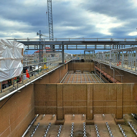 Back River Wastewater Treatment Plant (180 MGD) Enhanced Nutrient Removal Upgrade