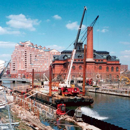 WRA waterfront engineering services for Baltimore Harbor