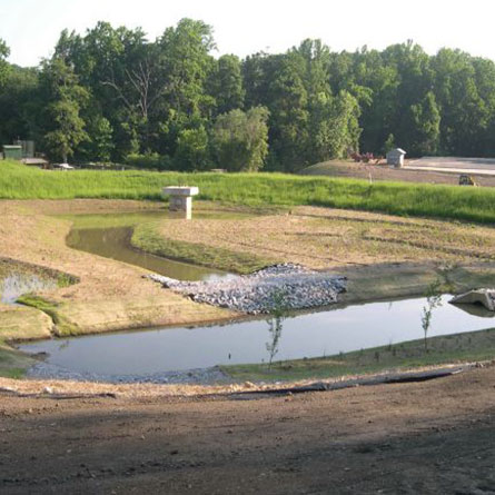 new stormwater management facilities