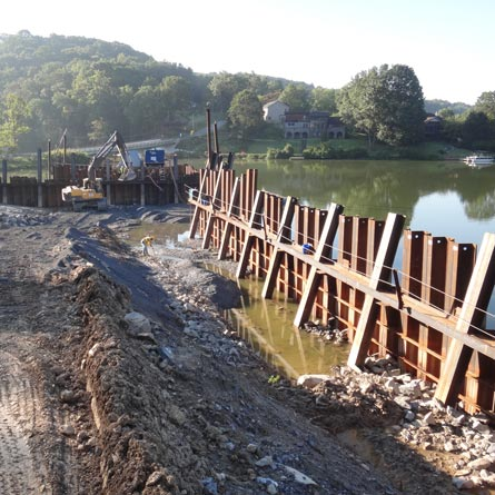 Replacement of Bridge F13-01 on Boyers Mill Road over Lake Linganore