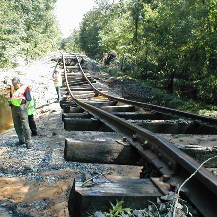 Centreville Freight Line Emergency Repairs