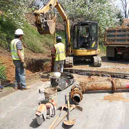 City of Charlottesville Water Main Replacements