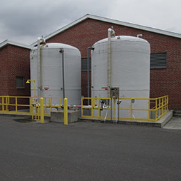 Cumberland Wastewater Treatment Plant Gravity Belt Thickener Facility