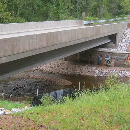 Replacement of Bridge BC-6521 carrying Georges Creek Road over Georges Run