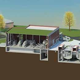 Northeast Water Pollution Control Plant Preliminary Treatment Facilities