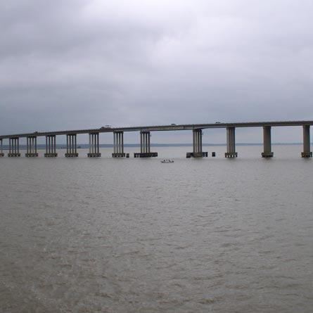 Route 360 Over Rappahannock River (Downing Bridge) Fender Replacement Study