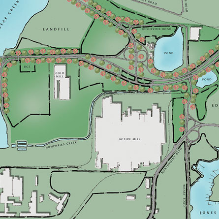Sparrows Point Master Plan Map