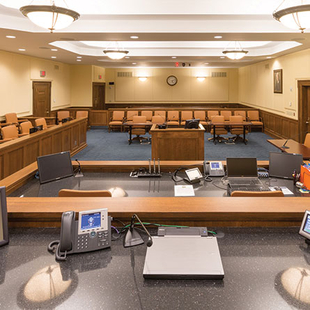 Sydney L. Christie Courtroom