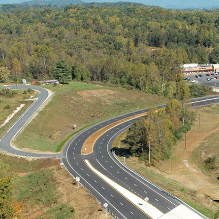 US 29 Sweet Briar Interchange